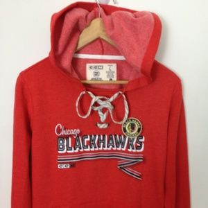NHL Chicago Blackhawks Women L Hoodie Sweatshirt